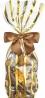 Luxe Cellofaan Zakjes Goud Line & Zilveren Bodem 10x4x2cm 100stuks