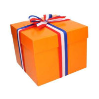 Geschenkdoos Oranje