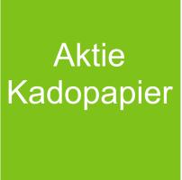 AKTIE AANBIEDING KADOPAPIER