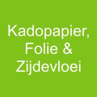 SALE - Cadeaupapier, Folie & Zijdevloei