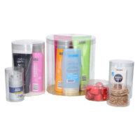 Transparant Kokers Zacht Plastic