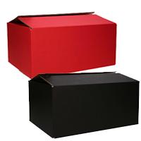 Geschenkdoos Oranje & Zwart & Rood (Neutraal)