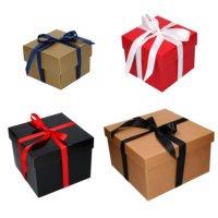 Geschenkdoos Torino Vierkant Met Deksel (Neutraal)