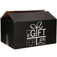 Verzenddoos A Gift For You Blauw (Neutraal)