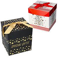 Kerstpakketdoos Present Kubus