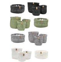 Cadeautas Sizo Knitted paper Bag