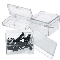 Transparant Doosje Hard Plastic Tot 80x80x80mm