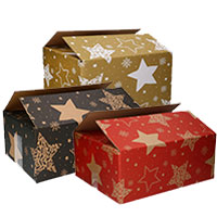 Kerstpakketdozen Stars