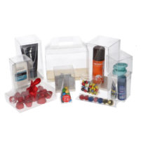 Transparant Doosje Zacht Plastic