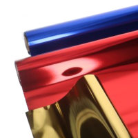 Kadofolie Metallic uni kleur 50meter