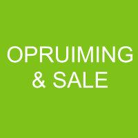 OPRUIMING & SALE
